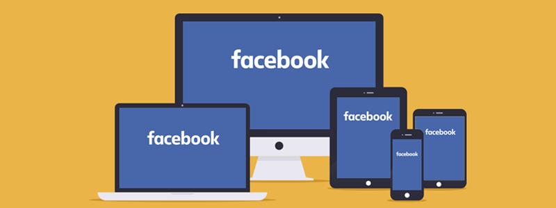 facebook em dispositivos móveis